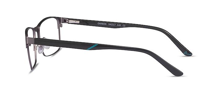 Carbon Matte Gunmatel Métal Montures de lunettes de vue d'EyeBuyDirect