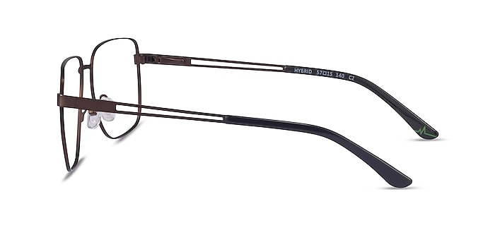 Hybrid Bronze Metal Eyeglass Frames from EyeBuyDirect