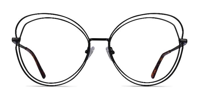 Stardust Matte Black Métal Montures de lunettes de vue d'EyeBuyDirect