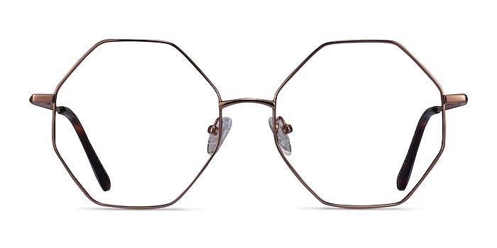 Imagine Bronze Métal Montures de lunettes de vue d'EyeBuyDirect