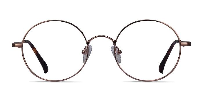 Lanscilo Bronze Métal Montures de lunettes de vue d'EyeBuyDirect