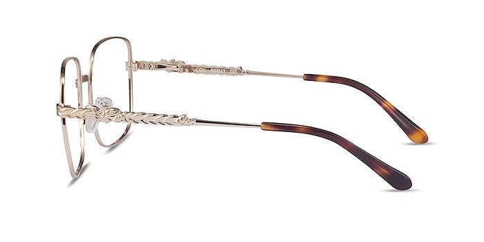 Coil Gold Metal Eyeglass Frames from EyeBuyDirect