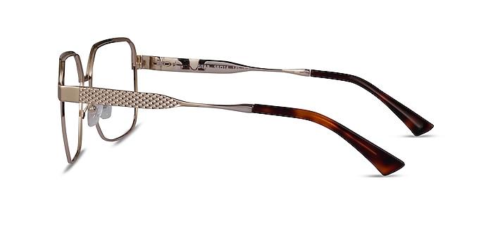 Gear Gold Metal Eyeglass Frames from EyeBuyDirect