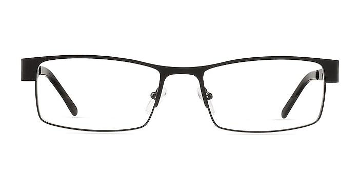 Blaise Black Metal Eyeglass Frames from EyeBuyDirect