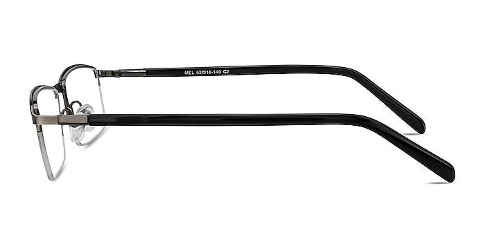 Mel  Gunmetal  Metal Eyeglass Frames from EyeBuyDirect