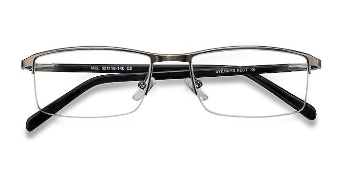 Gunmetal  Mel -  Classic Metal Eyeglasses