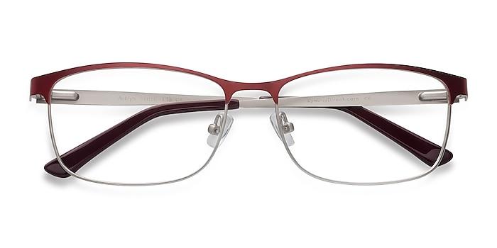 Red Ashlyn -  Lightweight Metal Eyeglasses