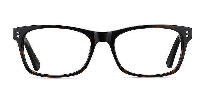 Ridge Tortoise Acetate Eyeglass Frames from EyeBuyDirect