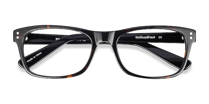 Tortoise Ridge -  Geek Acetate Eyeglasses