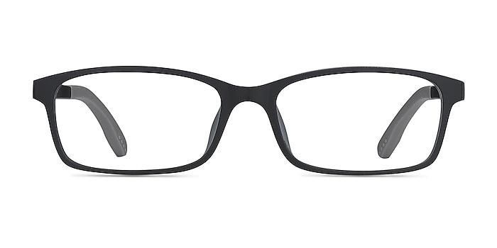 Corvallis Noir Plastique Montures de lunettes de vue d'EyeBuyDirect