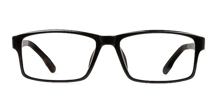 Bandon Black Plastic Eyeglass Frames from EyeBuyDirect