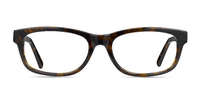Presley Brown Acetate Eyeglass Frames from EyeBuyDirect