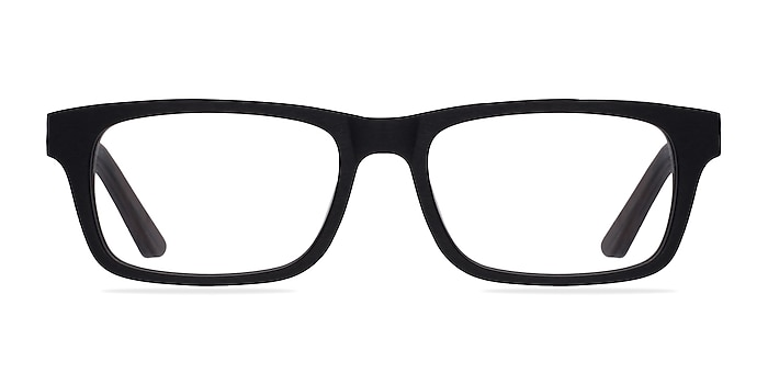 Emory Black Acetate Eyeglass Frames from EyeBuyDirect
