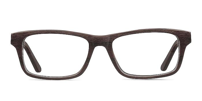 Emory Coffee Acetate Eyeglass Frames from EyeBuyDirect