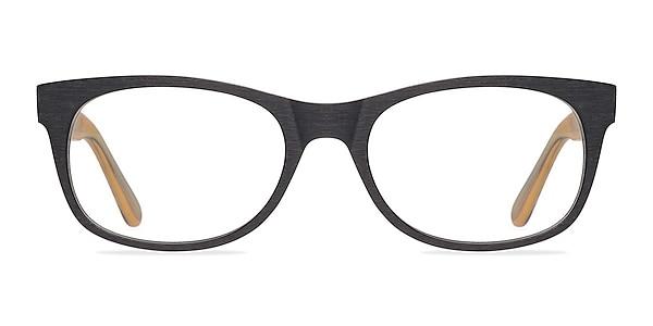 Panama Noir Acétate Montures de lunettes de vue