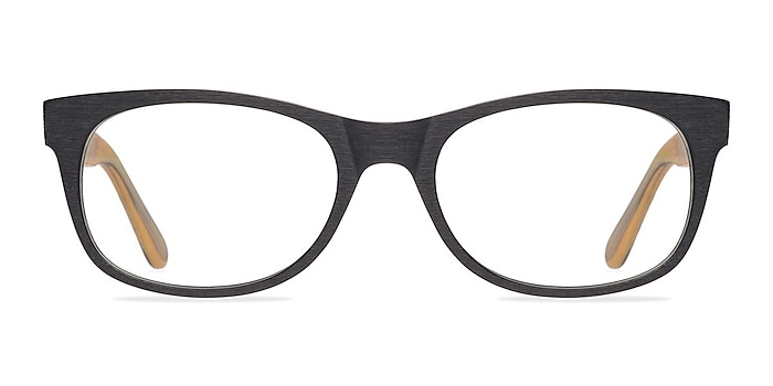 Panama Noir Acétate Montures de lunettes de vue d'EyeBuyDirect