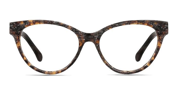 Jane Birkin Brown/Tortoise Acetate Eyeglass Frames from EyeBuyDirect