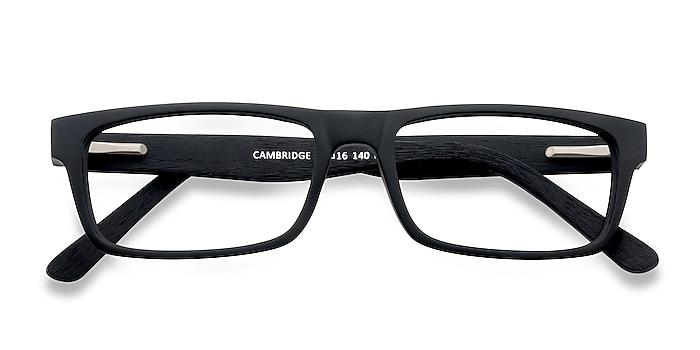 Black Cambridge -  Acetate Eyeglasses