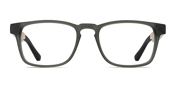 Lincoln Gray Acetate Eyeglass Frames