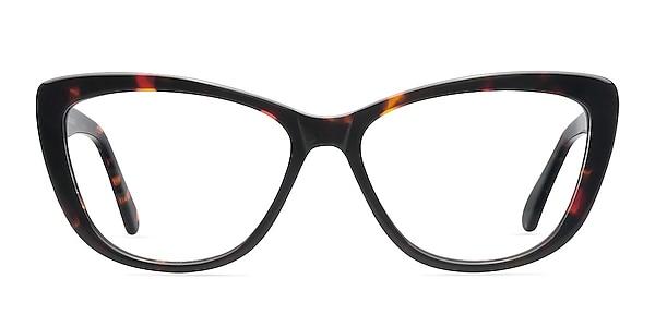 Charlotte Tortoise Acetate Eyeglass Frames