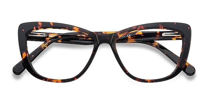Tortoise Charlotte -  Vintage Acetate Eyeglasses
