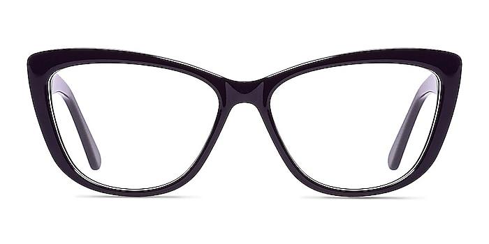 Charlotte Purple Acetate Eyeglass Frames from EyeBuyDirect