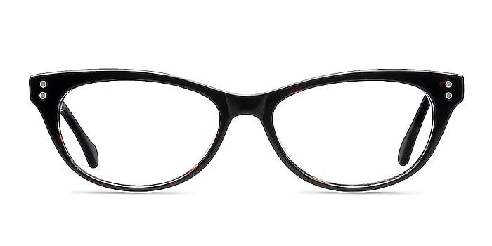 Monica Brown/Tortoise Acétate Montures de lunettes de vue d'EyeBuyDirect