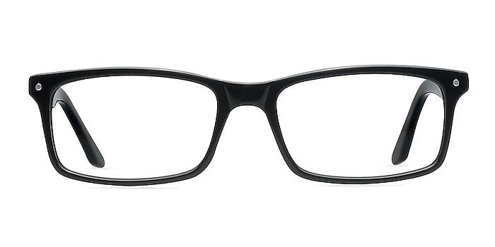 Mandi Black Acetate Eyeglass Frames from EyeBuyDirect