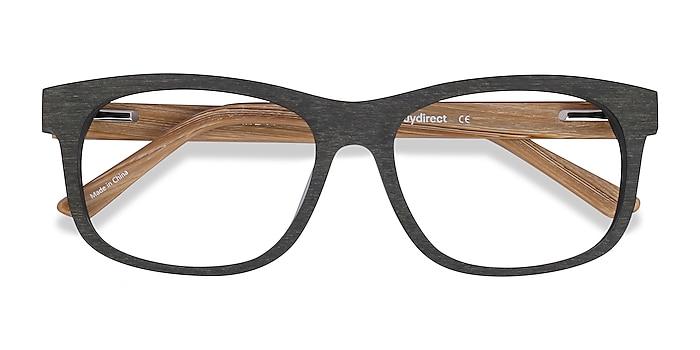 Olive White Pine -  Geek Acetate Eyeglasses