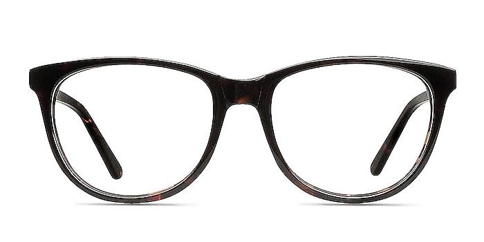 Anahi Brown/Tortoise Acétate Montures de lunettes de vue d'EyeBuyDirect