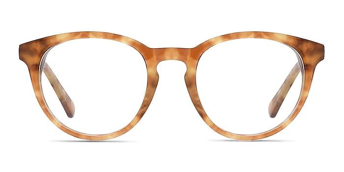 Stanford Brown/Tortoise Acetate Eyeglass Frames from EyeBuyDirect