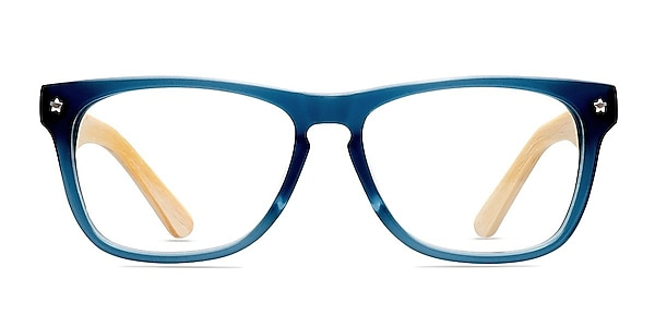 Indian Creek Blue Acetate Eyeglass Frames