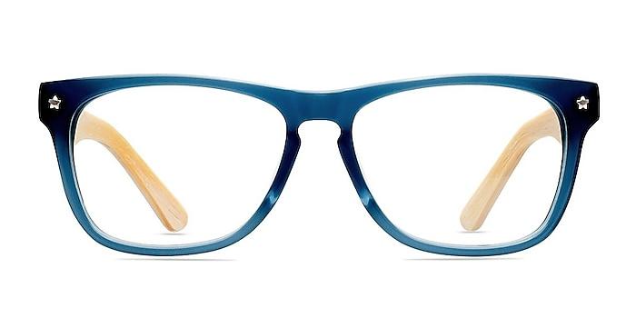 Indian Creek Bleu Acétate Montures de lunettes de vue d'EyeBuyDirect