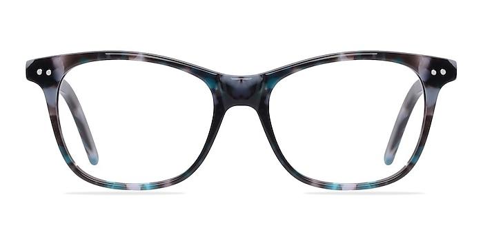 Almost Famous Nebular Blue Acétate Montures de lunettes de vue d'EyeBuyDirect