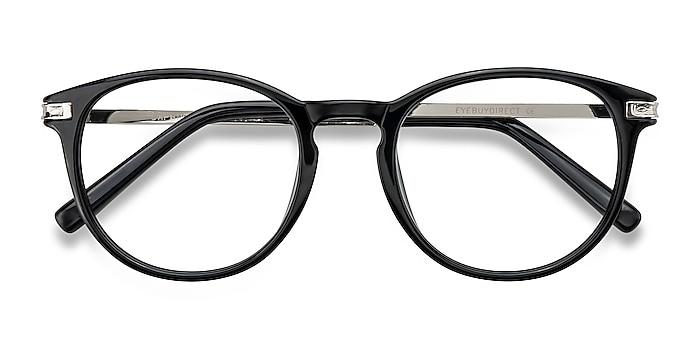 Black Daphne -  Fashion Plastic, Metal Eyeglasses