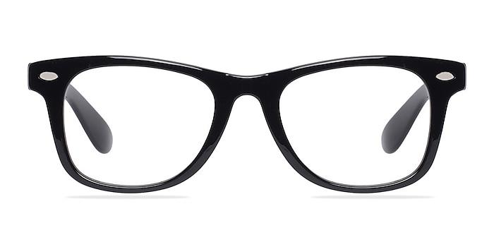 Atlee Noir Plastique Montures de lunettes de vue d'EyeBuyDirect