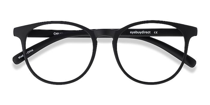 Black Chilling -  Lightweight Plastic Eyeglasses
