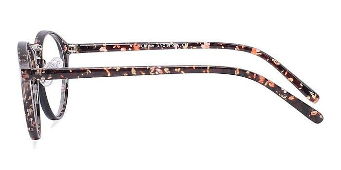 Chillax Red/Floral Plastic Eyeglass Frames from EyeBuyDirect