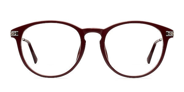 Muse Red Plastic-metal Eyeglass Frames