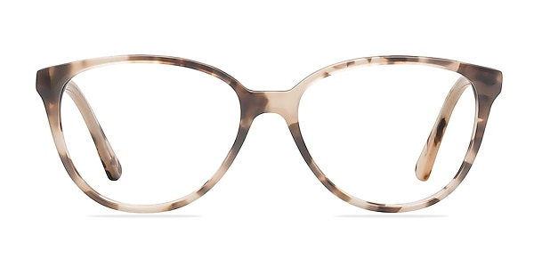 Hepburn Ivory/Tortoise Acétate Montures de lunettes de vue