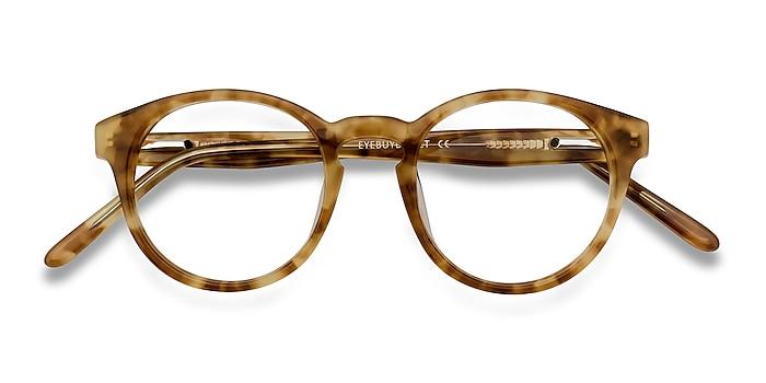 Tortoise Jade -  Vintage Acetate Eyeglasses