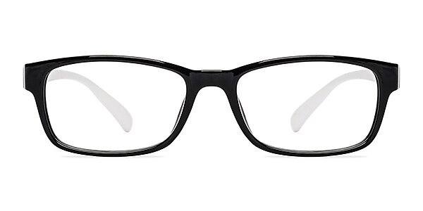Danny  Black/White  Plastic Eyeglass Frames