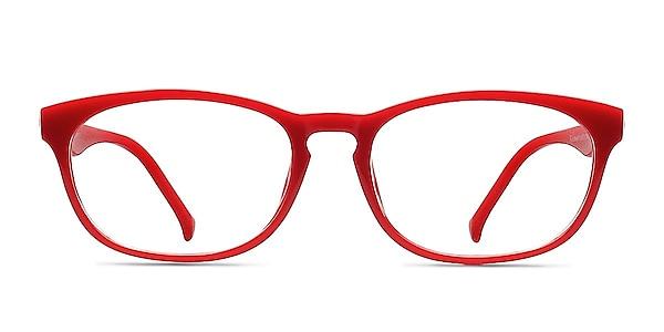 Drums  Red  Plastic Eyeglass Frames