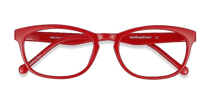 Red  Drums -  Lightweight Plastic Eyeglasses