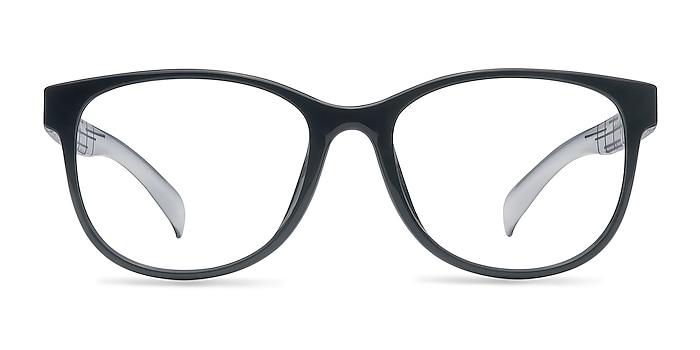 Warren  Black  Plastic Eyeglass Frames from EyeBuyDirect