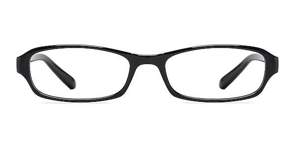 Adept  Black  Plastic Eyeglass Frames