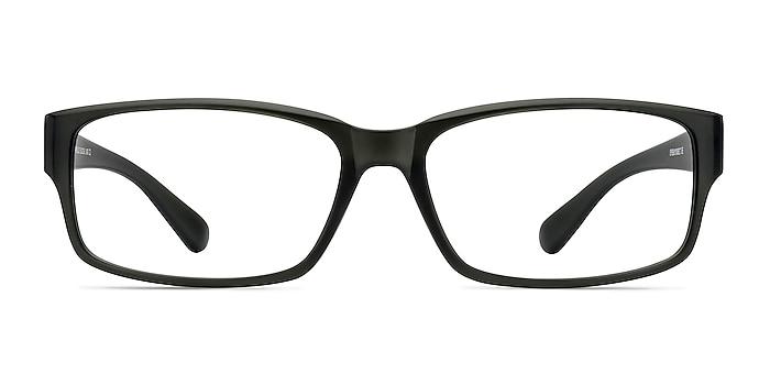 Apollo Matte Gray Plastic Eyeglass Frames from EyeBuyDirect