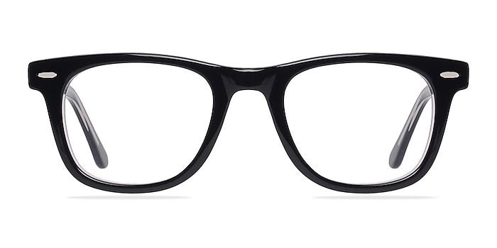 Blizzard  Black  Acetate Eyeglass Frames from EyeBuyDirect