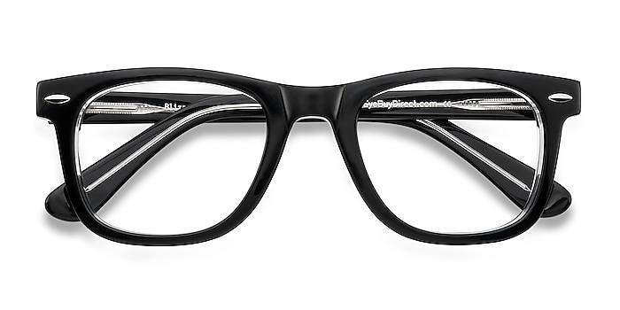 Black  Blizzard -  Geek Acetate Eyeglasses