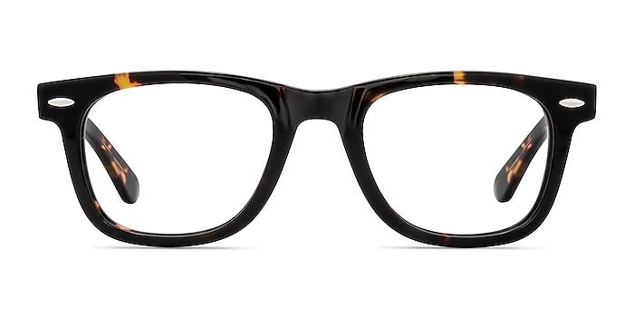 Blizzard Dark Tortoise Acetate Eyeglass Frames from EyeBuyDirect
